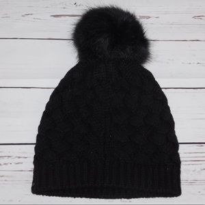 J. Crew winter Pom Pom Beanie Hat New
